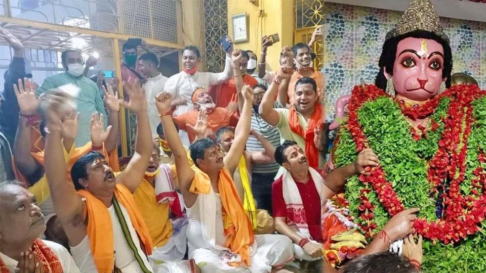 Howrah BJP on ram mandir bhoomi pujan