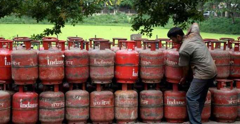 The price of cooking gas went up again