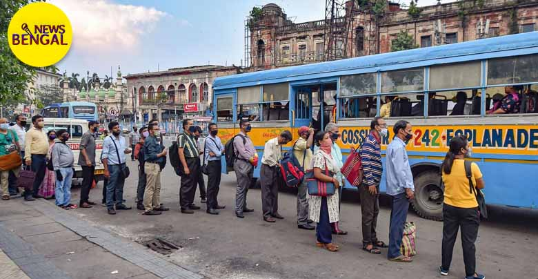 The state transport department has issued a show cause notice to the bus owners for taking extra fare